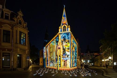 Zwickau Festival of Lights - Das Schiffchen am Kornmarkt - 2018