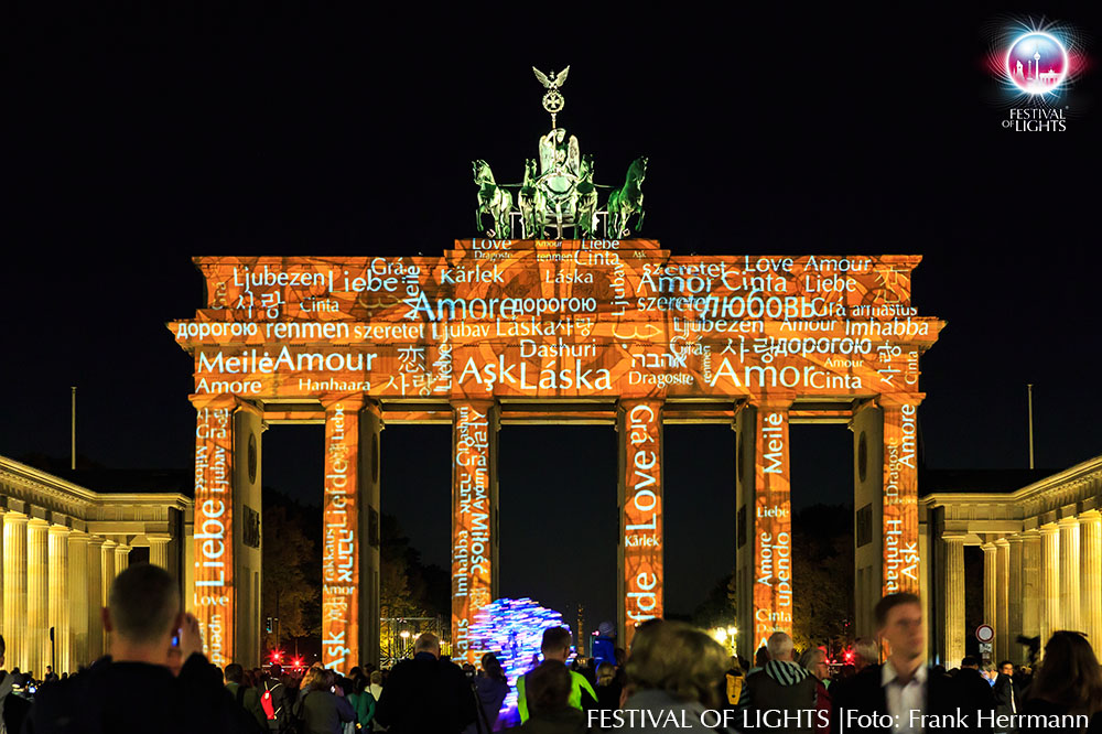 "Brandenburger Tor - ""Language of Love"""