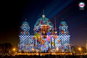 """Berliner Dom - """"Der Dom trägt neue Kleider""""- 2010 - Design by Joop"""