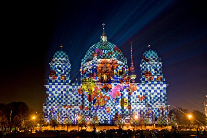 Berliner Dom - Der Dom trägt neue Kleider - festival of lights