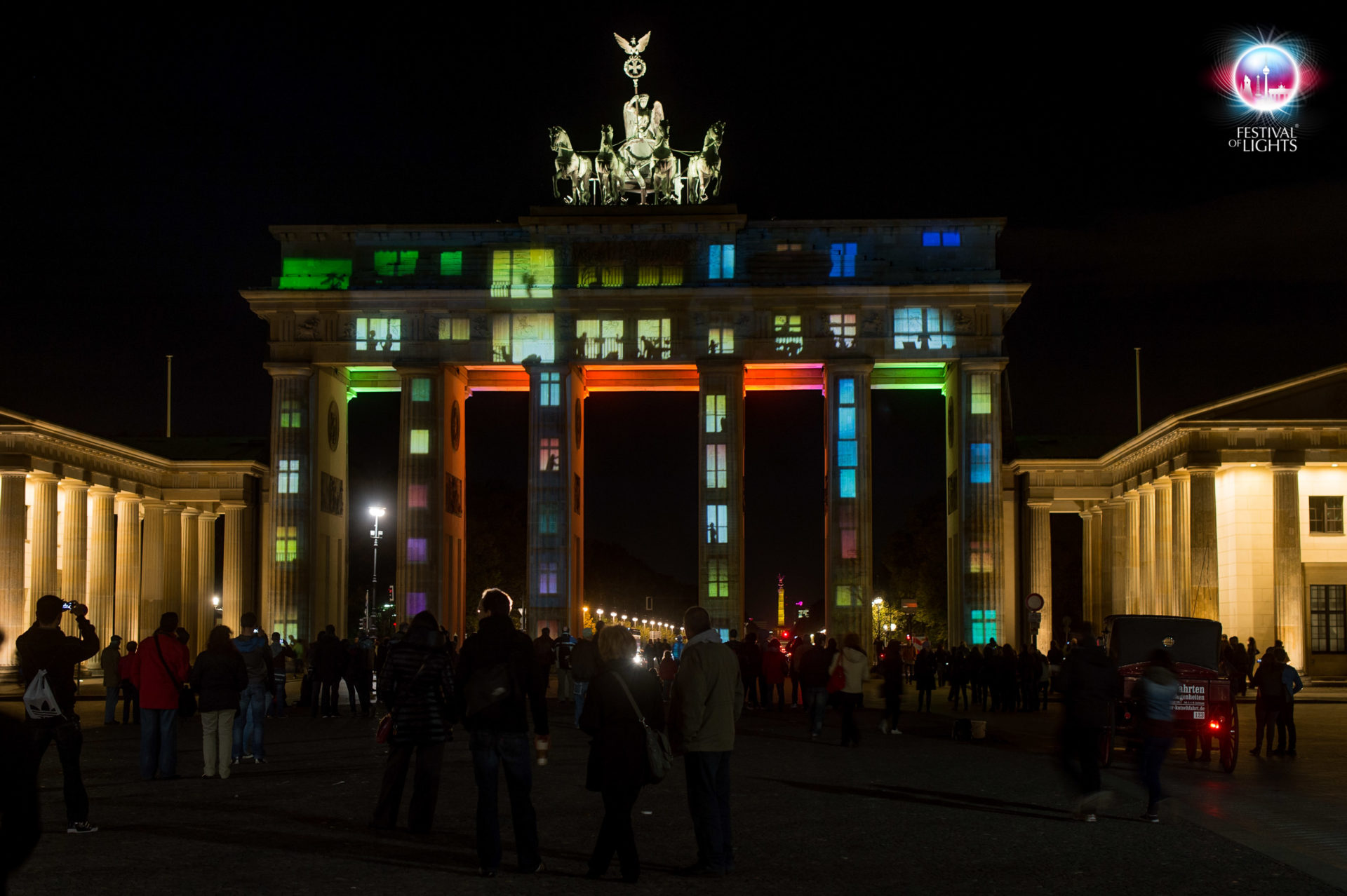 """Brandenburger Tor - """"Wohnen im Brandenburger Tor"""" - 2012"""