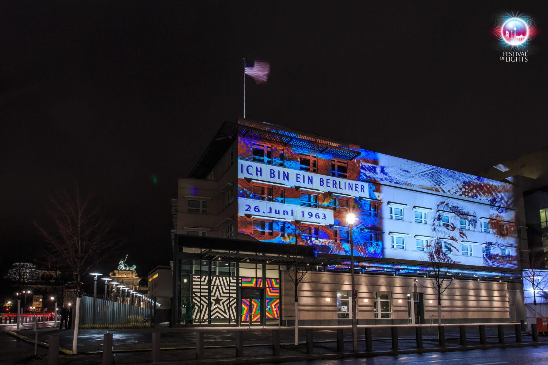 Amerikanische Botschaft - I am a Berliner - 2013