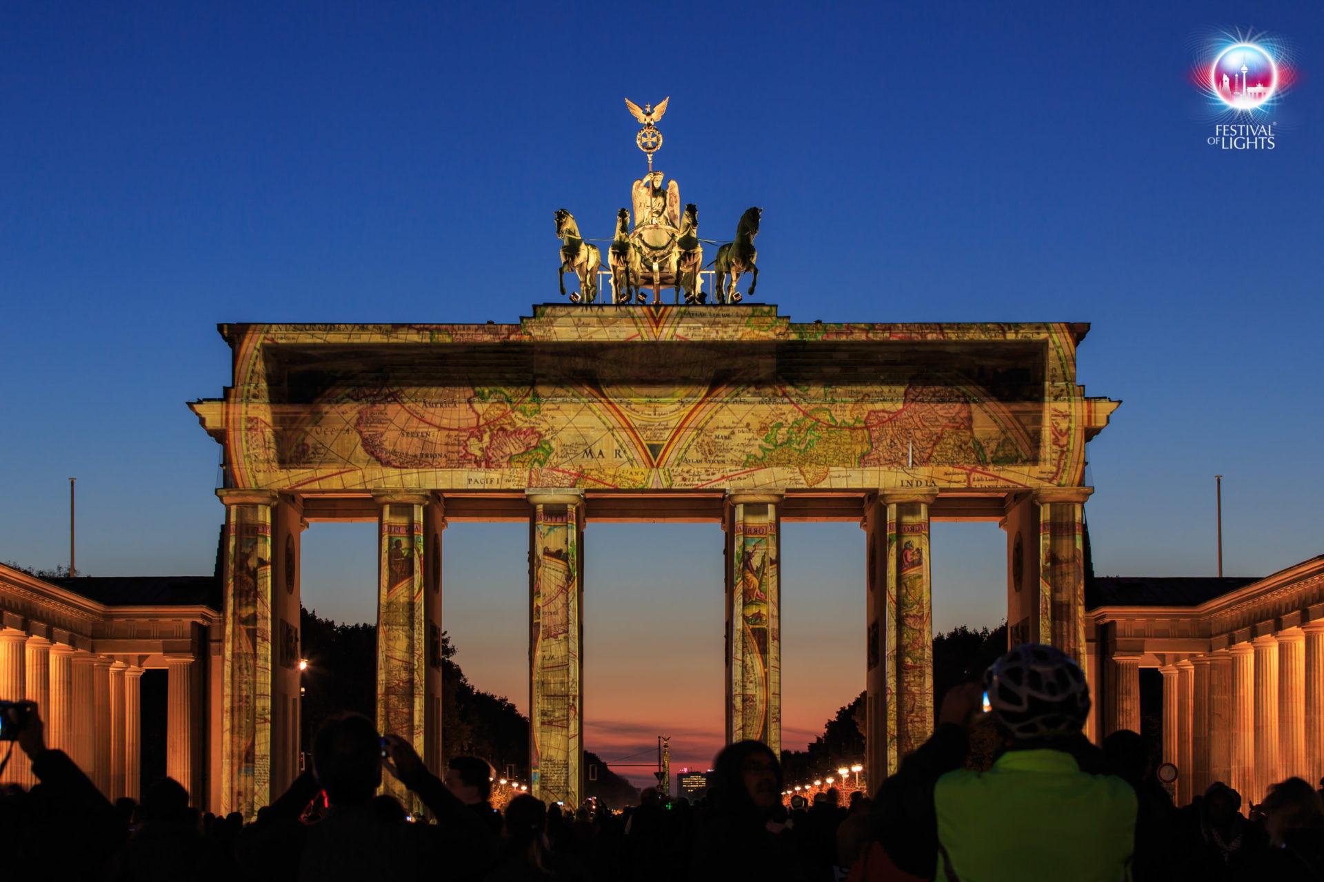 Brandenburger Tor - Weltkarte - 2013