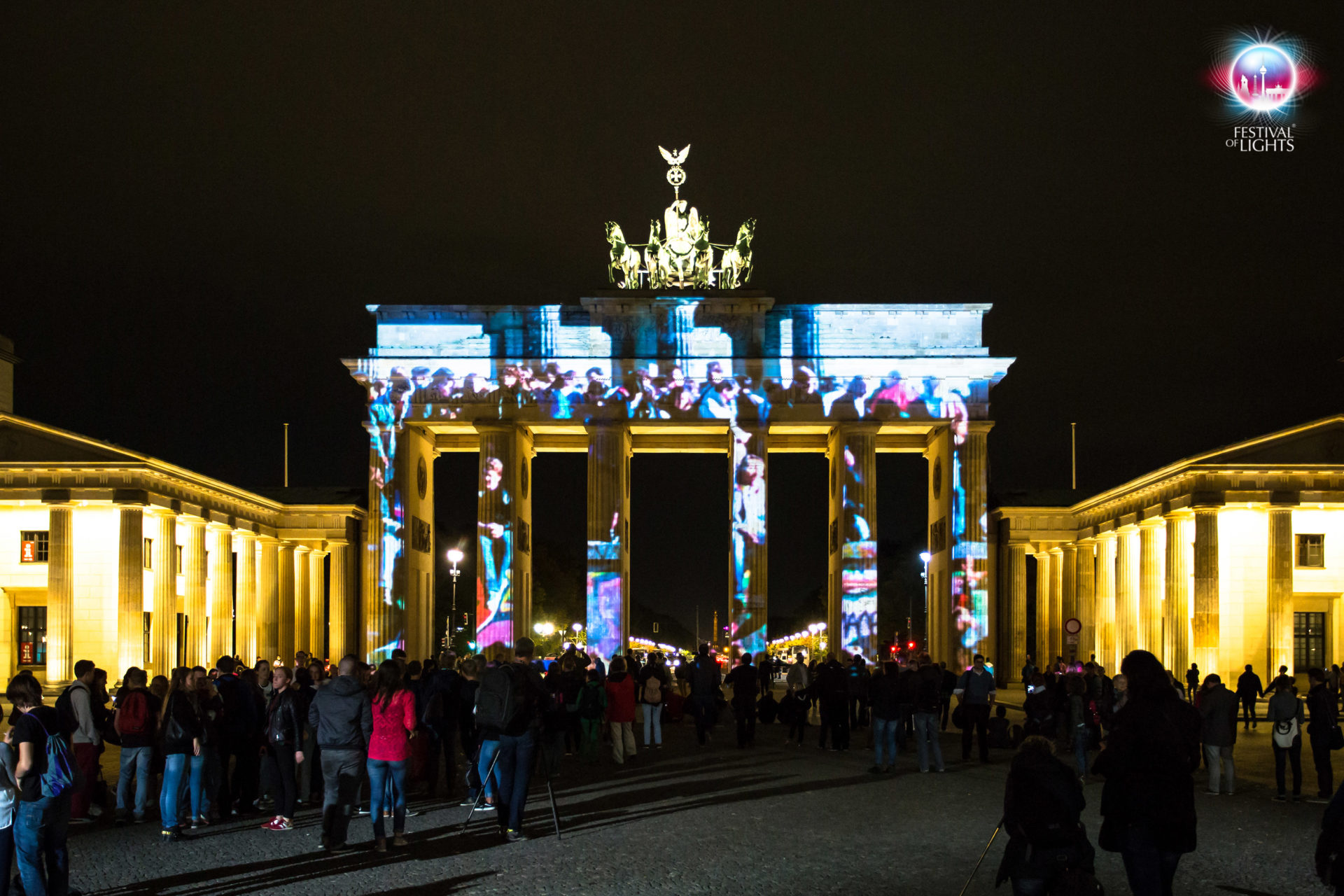 "Brandenburger Tor - ""Colours of Joy""- 2014"