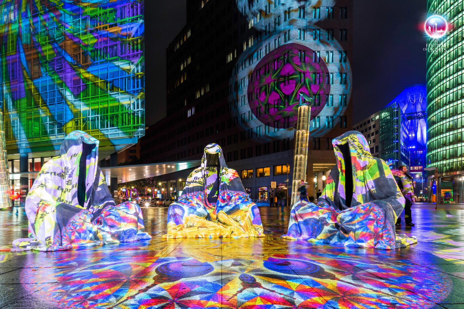 Potsdamer Platz - Kaleidoskope + Wächter der Zeit - 2014