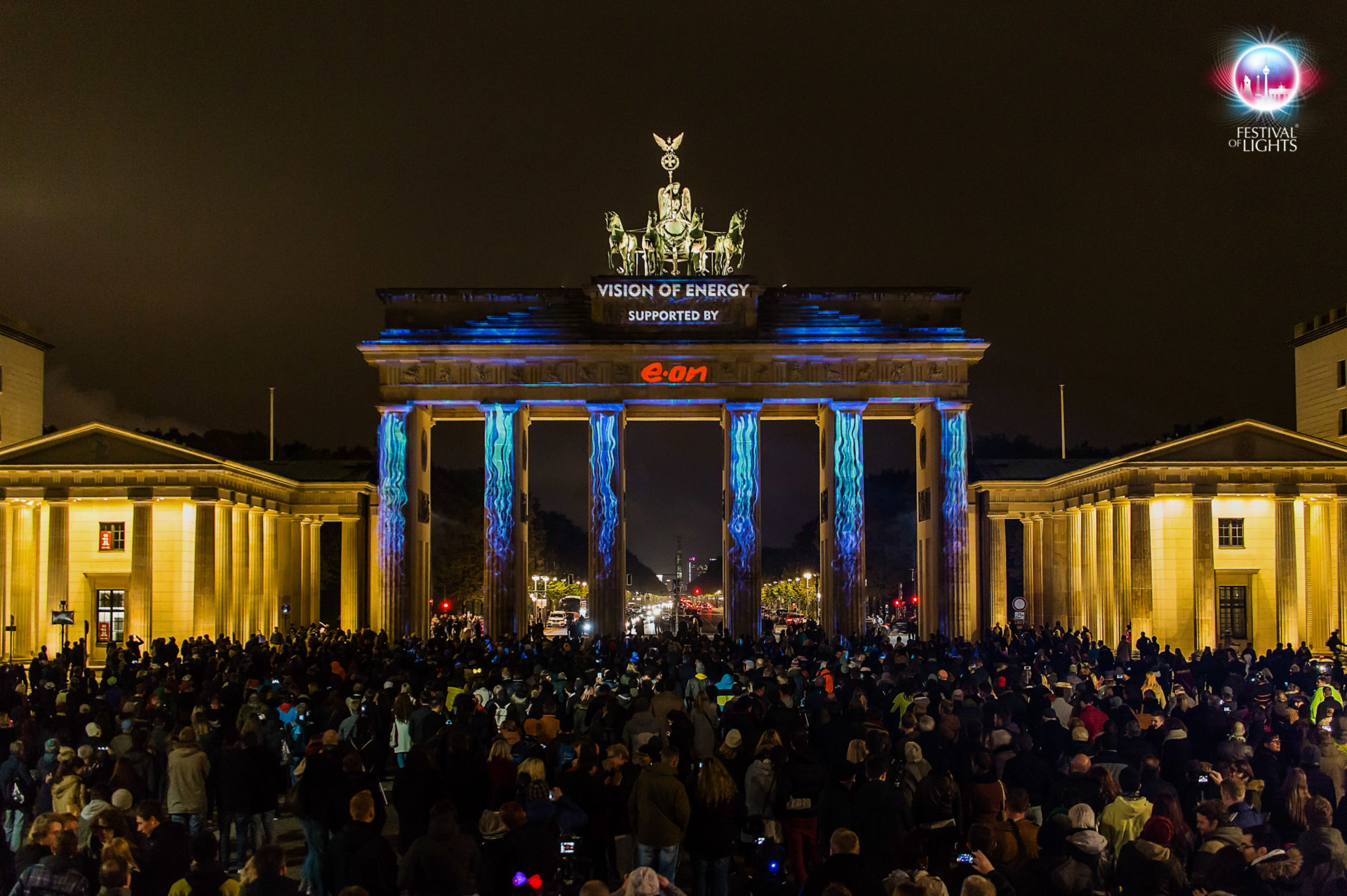 Brandenburger Tor - World Championship of Projection Mapping - 2015