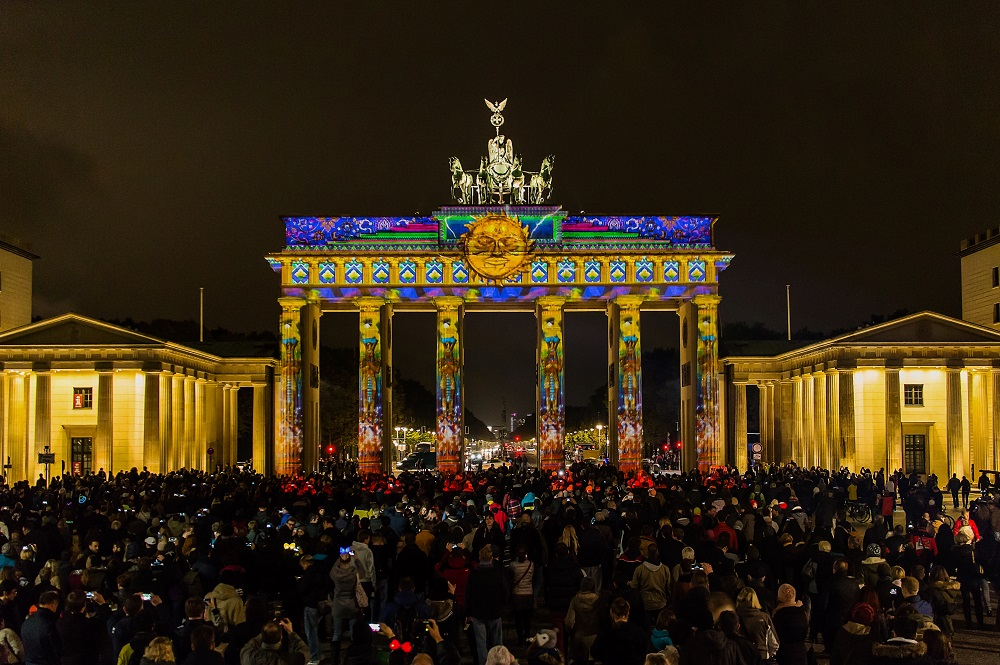 Brandenburger Tor - World Championship of Projection Mapping - 2015 Ad Lib Creations