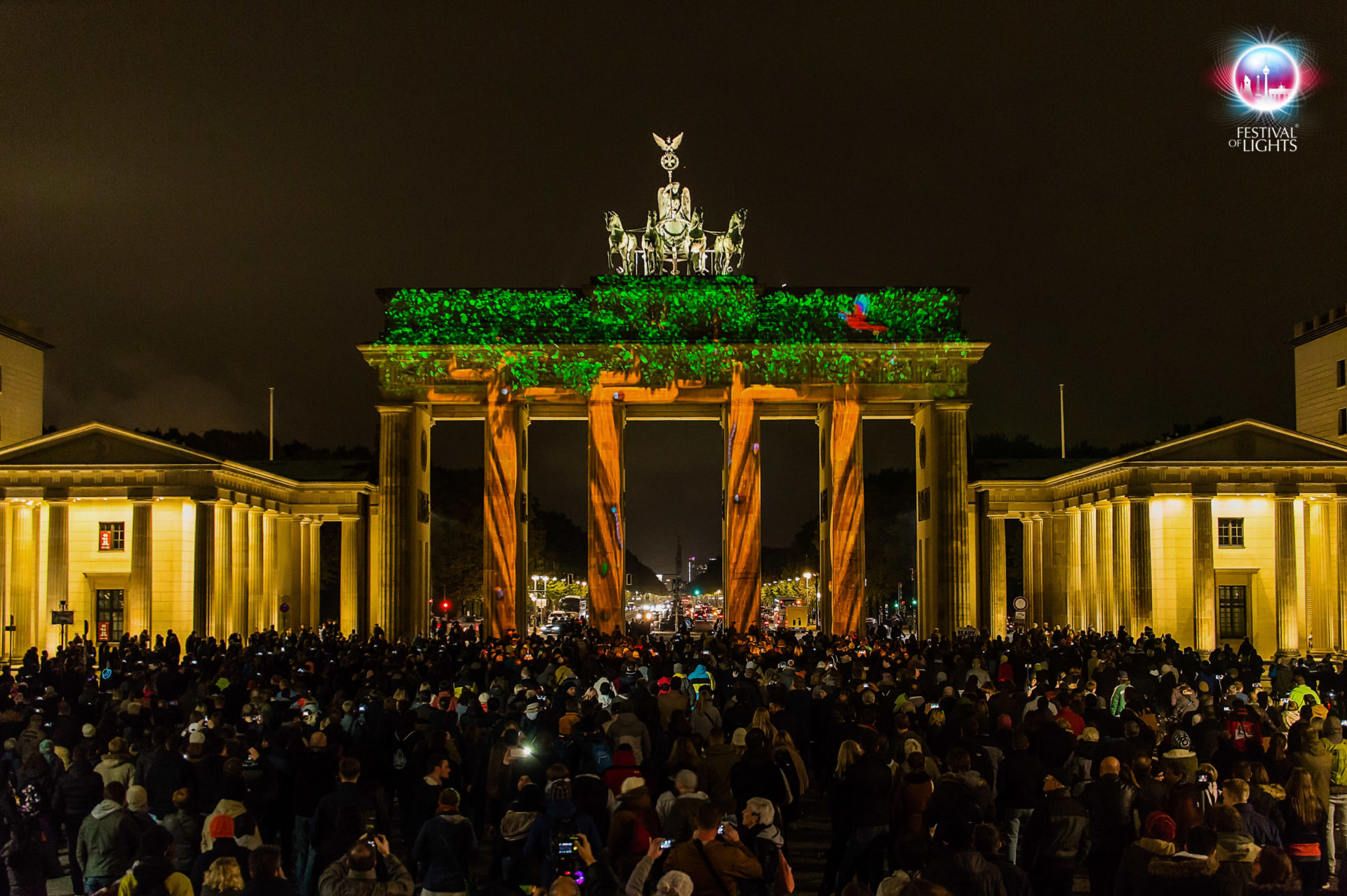 Brandenburger Tor - World Championship of Projection Mapping - 2015 - Ample Project
