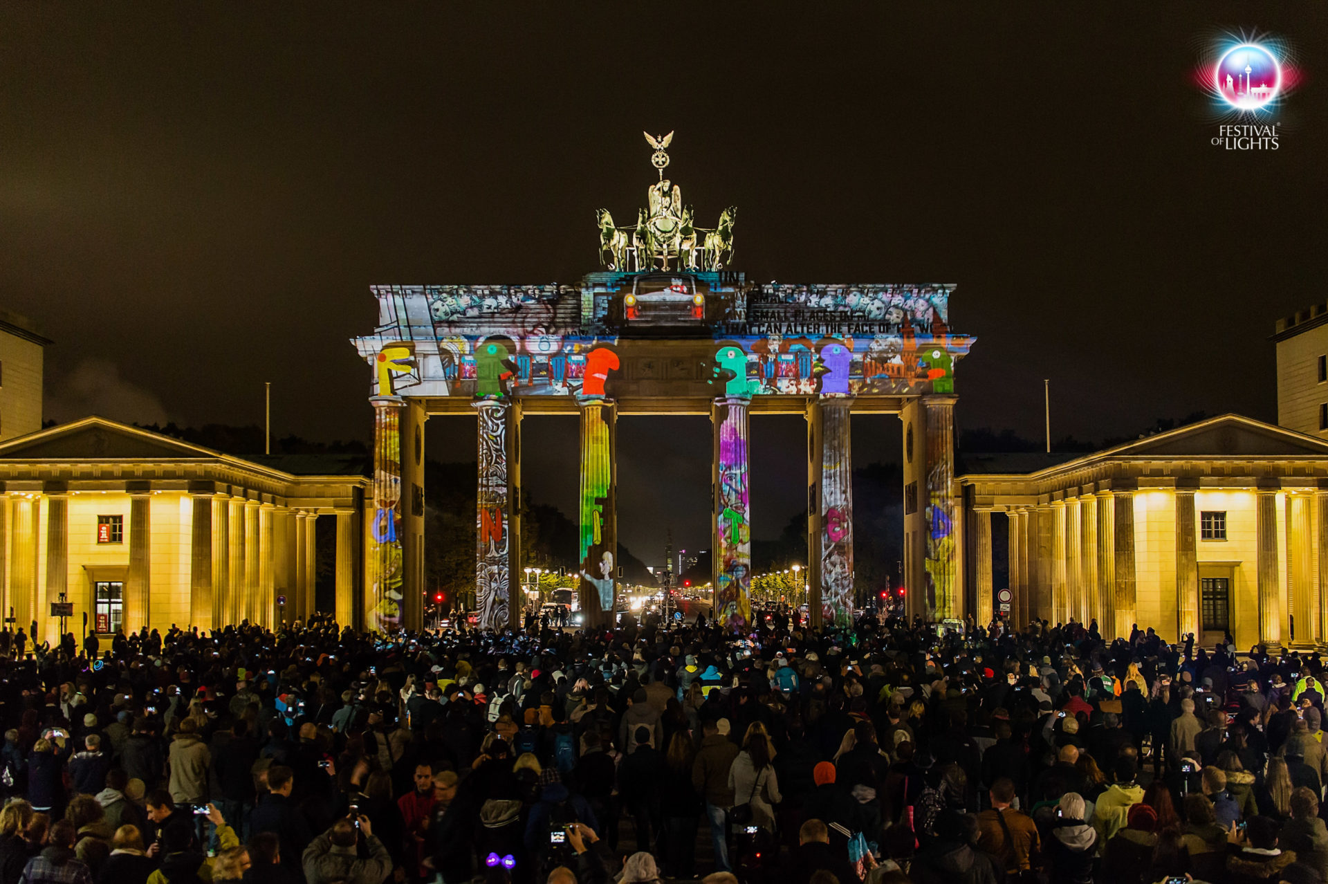Brandenburger Tor - World Championship of Projection Mapping - 2015 MP-Studio