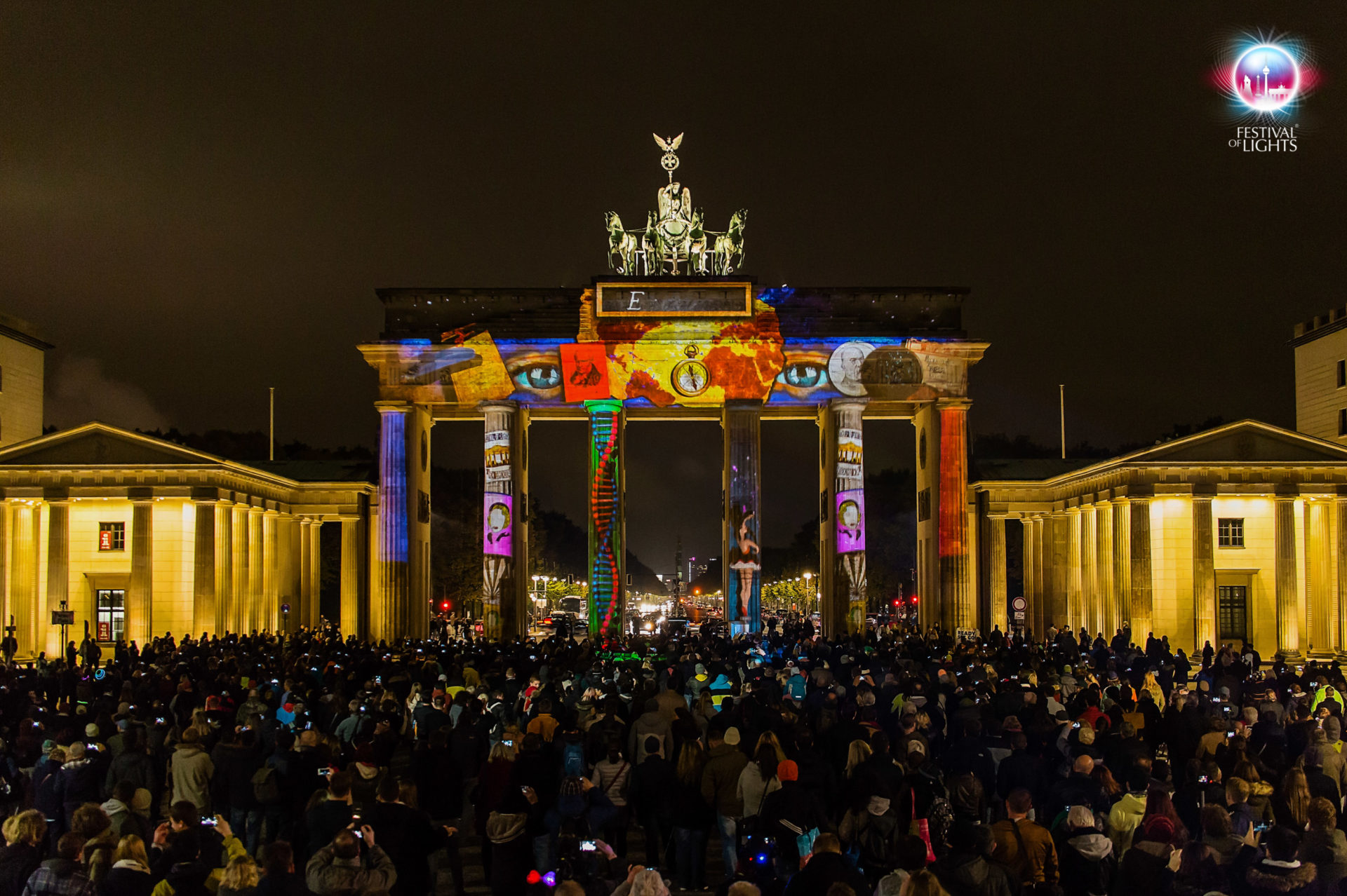 Brandenburger Tor - World Championship of Projection Mapping - 2015 - MP-Studio