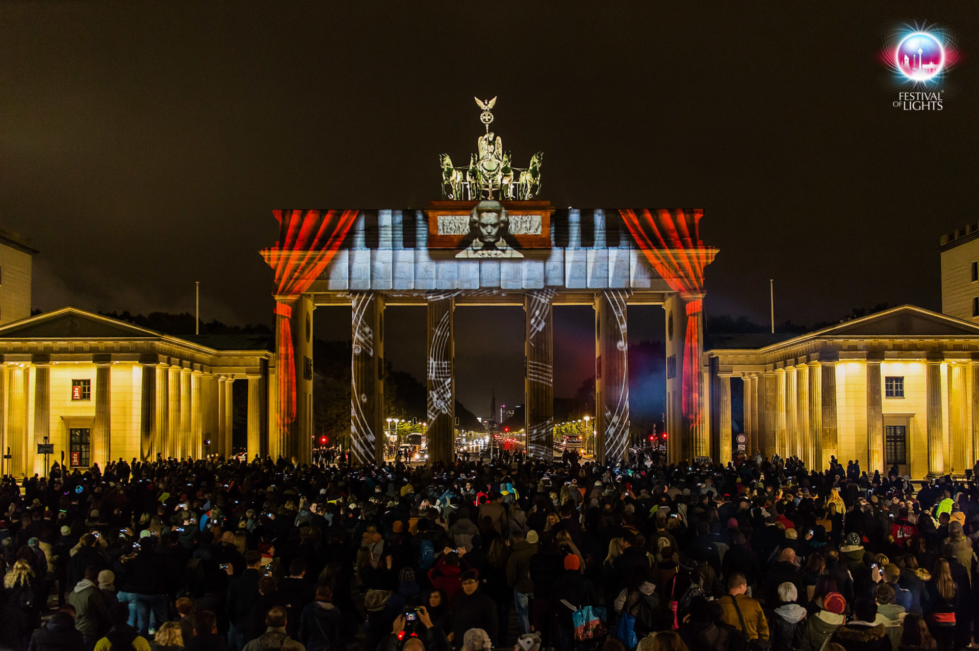 Brandenburger Tor - World Championship of Projection Mapping - 2015 - Sinoca