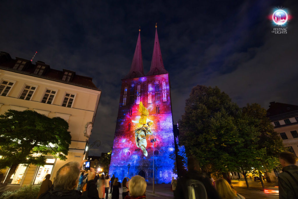 Nikolaikirche- SPIRITUS- Light and Darkness - 2016
