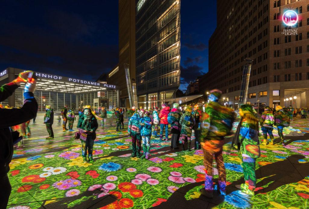 Potsdamer Platz - Bodenprojektion - 2017