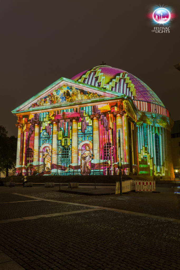 Static Projections Festival Of Lights