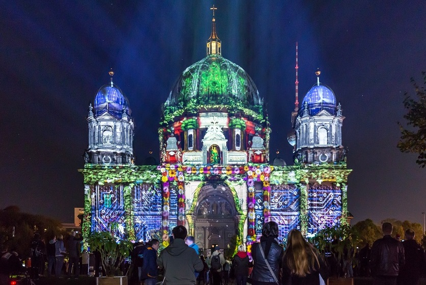 Festival of Lights - Berliner Dom - World Champonship of Projection Mapping - 2017