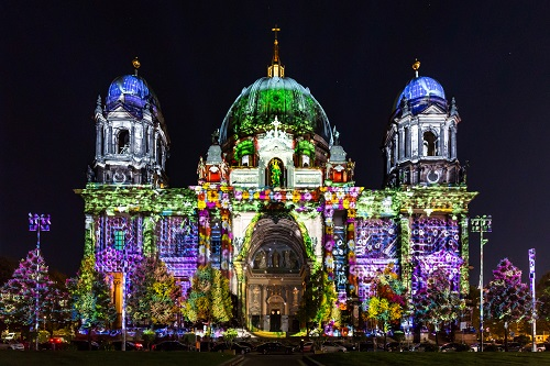 Berliner Dom - Championship of Projection Mapping - Festival of Lights