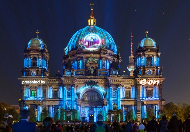 Berliner Dom - World Champonship of Projection Mapping presented by E.ON