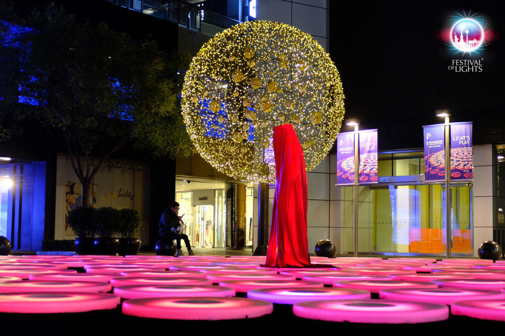 TAIKOO LI SENLITUN LIGHT FESTIVAL PEKING