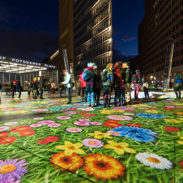 Potsdamer Platz Bodenprojektion