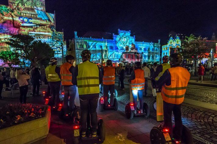 Zwickau Festival of Lights - Hauptmarkt - 2018