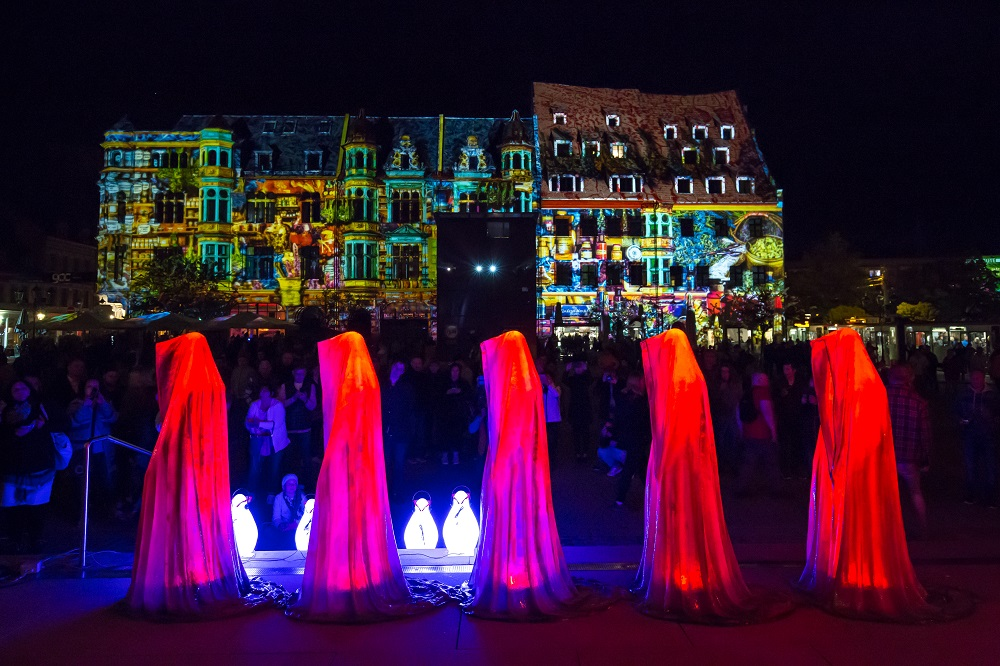 Zwickau Festival of Lights - Löwenapotheke - 2018