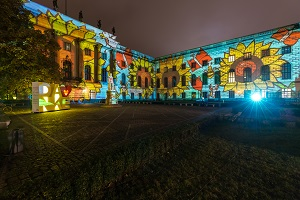 Die Humboldt Universität - Festival of Lights