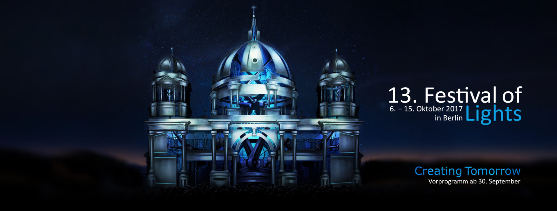 Berliner Dom - Keyvisual - 13. Festival of Lights