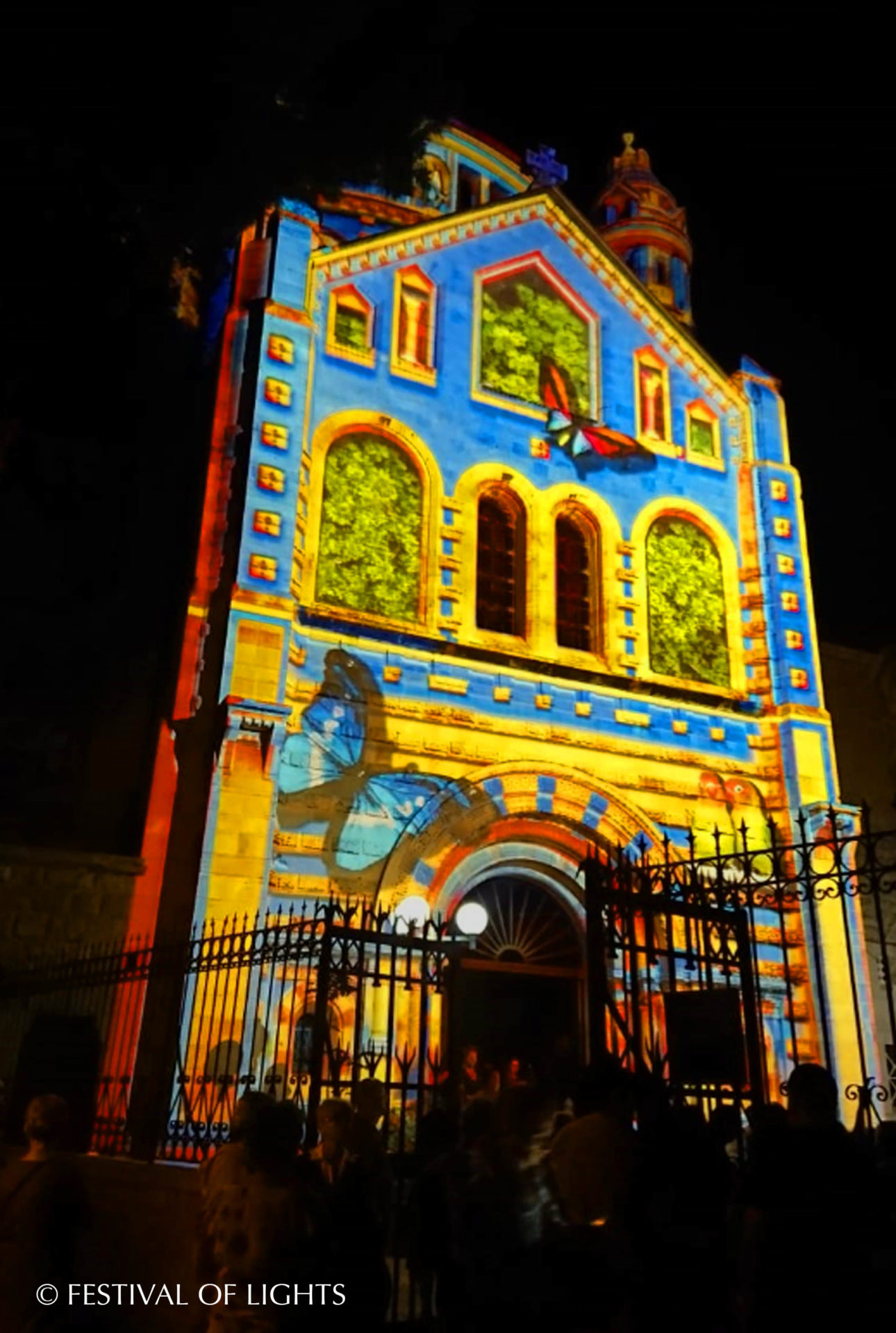 "Jersualem Light Festival - Dormitio Abtei - ""Enlighten"""