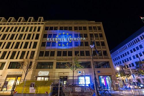 Europäisches Haus - Festival of Lights