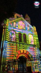 Jerusalem Festival of Lights - Dormitio Abtei - 2018