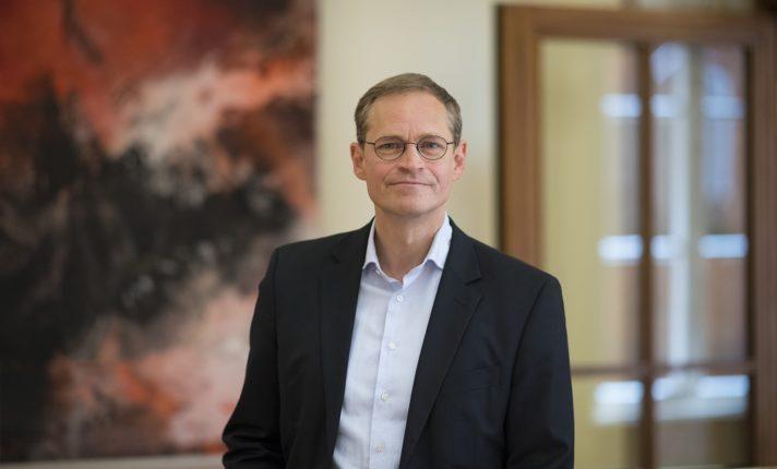 Michael Mueller SPD, Bürgermeister von Berlin, Foto von Jens Jeske