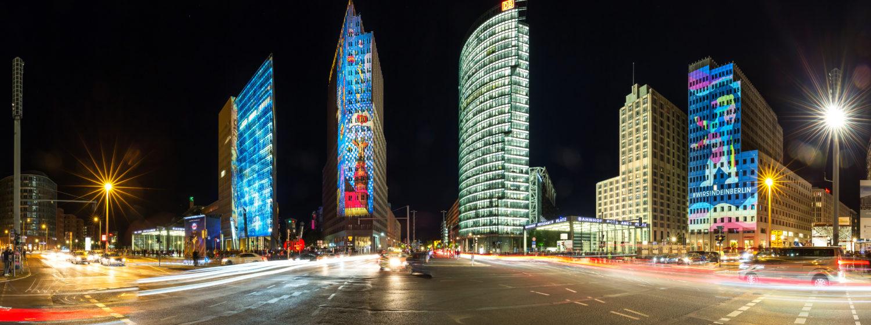 Potsdamer Platz Panorama 2020