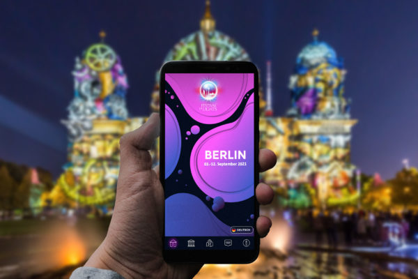 Smartphone Berliner Dom ohne eon