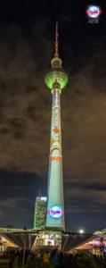 Berliner Fernsehturm - We love Berlin - 2016