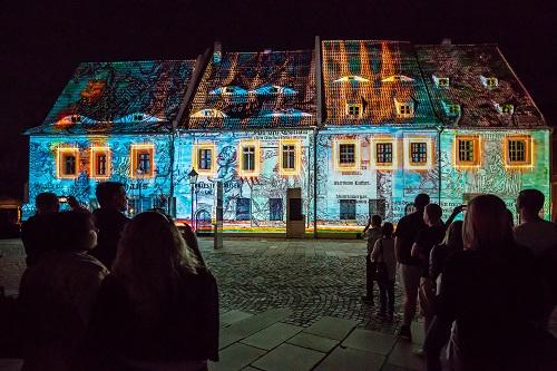 Zwickau Festival of Lights - Priesterhäuser - 2018